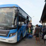 Tengkayu 1 Terapkan Sistem Boarding - Beli Tiket di loket,Penumpang Diantar Jemput Bus ke Dermaga
