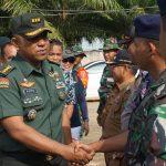 Tim Wasev Mabes TNI Kuker Ke Sebatik Lakukan Pengawasan dan Evaluasi TMMD 105