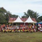 Sambut HUT RI Ke 74, Kades Binusan Resmikan Pembukaan Lomba Turnamen Sekaligus HUT Desa Binusan Ke 16
