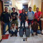 Komplotan Curat di Ringkus Satreskrim Polres Nunukan