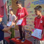 Atlit Junior Panjat Tebing  Berhasil Membawa Pulang Medali untuk Sulsel di Kejurnas Panjat Tebing Ke XIV Tahun 2019 di Kalimantan Tengah
