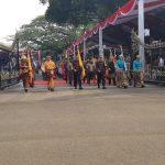 Dua Personil  Kodim Bone,  Serti Jumardin dan Koptu Nawawi Menjadi Pengawal Duplikat Bendera Pusaka dan Teks Proklamasi