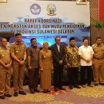 Bupati Wajo hadiri Rakor Peningkatan Mutu Pendidikan di Provinsi Sulawesi Selatan