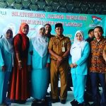 Ketua DPC PPWI Aceh Tamiang, Salbiah, S.Pd.I Bersilahturahim dengan Alumni Himpaudi Langkat