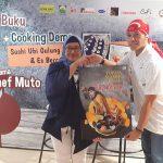 Peluncuran Buku Resep Masakan Hasil Karya Chef Muto