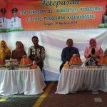 Wakil Bupati Wajo hadiri Pelepasan Tim surveior Re - Akreditasi Puskesmas Salewangeng