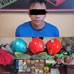 Sering curi Helm Di Parkiran pemuda ini Diamankan Resmob Polres Sinjai
