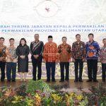 Pemprov Terus Berkomitmen untuk Tertib Administrasi Wagub Hadiri Sertijab dan Peresmian Kantor Perwakilan BPK Kaltara