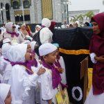 21 TK dan Paud Nunukan Ikuti Manasik Haji Cilik di Islamic Center