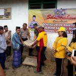 Peduli Tempat Ibadah,Kapolres Sinjai Beri Bantuan Pembangunan Masjid di Kecamatan Borong Sinjai
