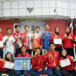 Luar Biasa Kontingen Pencak Silat Pulau Sembilan Borong Medali Emas