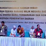 Wakil Bupati Wajo Tandatangan Naskah Hibah dari Kementerian Energi dan Sumber Daya Mineral