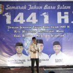 Wakil Bupati Wajo Apresiasi kegiatan semarak tahun baru Islam 1441 H, ini harapannya