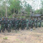 Tingkatkan Kemampuan Prajurit, Kodim 1407/Bone Gelar Latihan Menembak