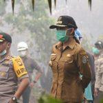 Api di Wilayah Kuala Sampas berhasil dipadamkan