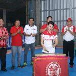 Bupati Landak Buka Turnamen Futsal Kota Intan Cup 2019