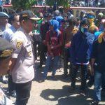 Kapolres Bone ikut kawal Demo PMII di DPRD sebelum jemput Dikantornya
