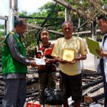 Peduli korban Kebakaran BAZNAS BONE Kunjungi dan Beri Bantuan,Ringankan Beban