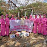 Peduli korban kebakaran polsek Tanete Riattang bersama Ibu bhayangkari beri Bantuan Sosial ke Mading