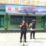 Danyon C Pelopor Brimob Bone Pimpin Apel Gabungan TNI POLRI Dalam Patroli Skala Besar Menjelang Pelantikan Presiden dan Wakil Presiden RI