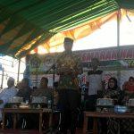 Wakil Bupati Wajo Menghadiri Hari Santri Nasional yang di pusatkan di Doping