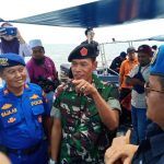 Serah Terimah Empat Orang WNI Yang Hanyut Keperairan Malaysia