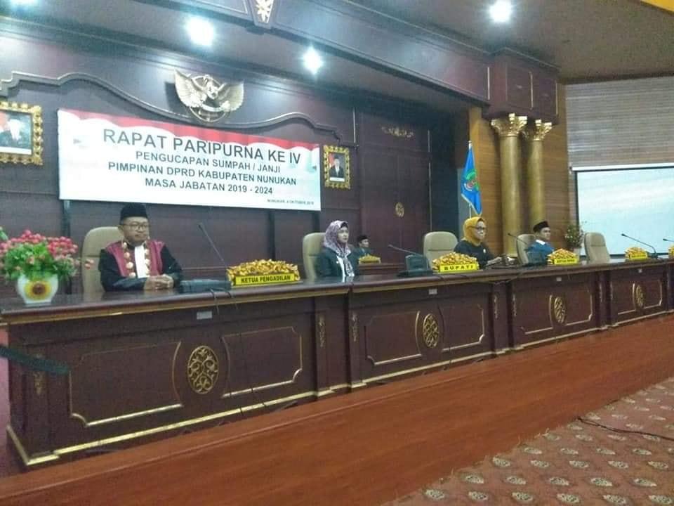 Ketua DPRD Nunukan Tegaskan Tetap Akan Kritis Sekalipun Bupati  Adalah Putrinya Sendiri