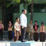 Ketua KPU Kepulauan Selayar Sosialisasikan, Rumah Pintar Pemilu di SMANSA, Benteng
