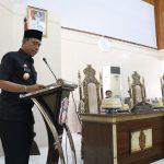 Rapat PARIPURNA Penyerahan 3 Ranperda di Ruang Sidang Kantor DPRD Kabupaten Wajo, Selasa 5 November 2019.