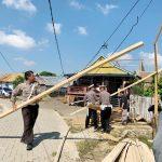 Warga Tidak Mampu di Bajoe,Dibangunkan Rumah kolaborasi Satlantas polres Dan FPKD BONE