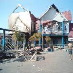 Kebakaran Menara Informasi Pelabuhan Pamatata, Kerugian Ditaksir Mencapai Milyaran Rupiah