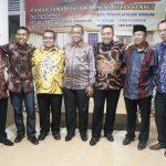 Lepas Sambut Kapolres Wajo dan Ketua Pengadilan Negeri Sengkang, digelar di Rumah Jabatan Bupati Wajo.