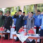 Wakil Bupati Wajo Sebagai Inspektur Upacara HUT KORPRI ke 48
