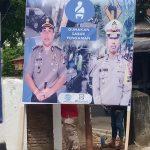 Tekan Angka kecelakaan  jelang Tahun baru , Satlantas Polres Bone Himbau Pengendara Lewat Baliho