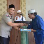Kapolres Palopo Resmikan Mesjid Dan Berikan Al-Qur'an serta Sumbang Karpet dalam Safari Jumat