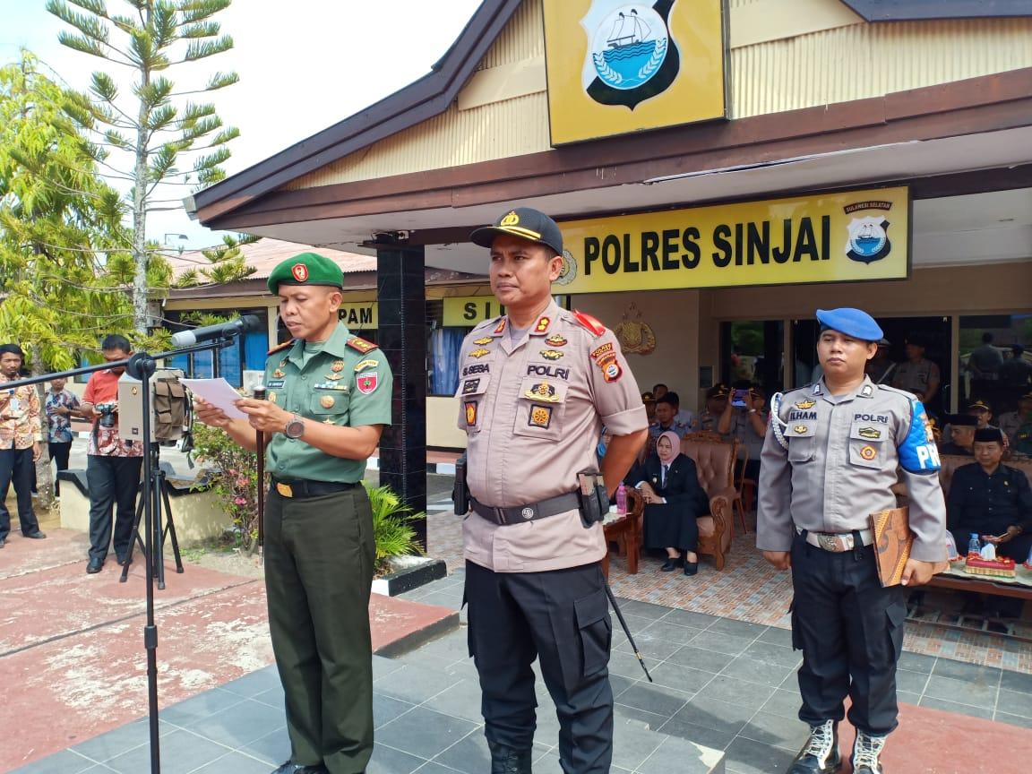 Polres Sinjai Gelar Apel Pasukan Jelang Operasi Lilin  Dan NATARU 2019-2020