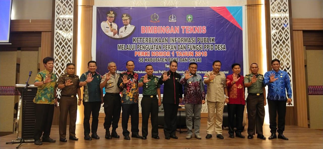 Bintek KIP melalui penguatan Dan Fungsi  Peran PPID Desa, Forki no 1 tahun 2019