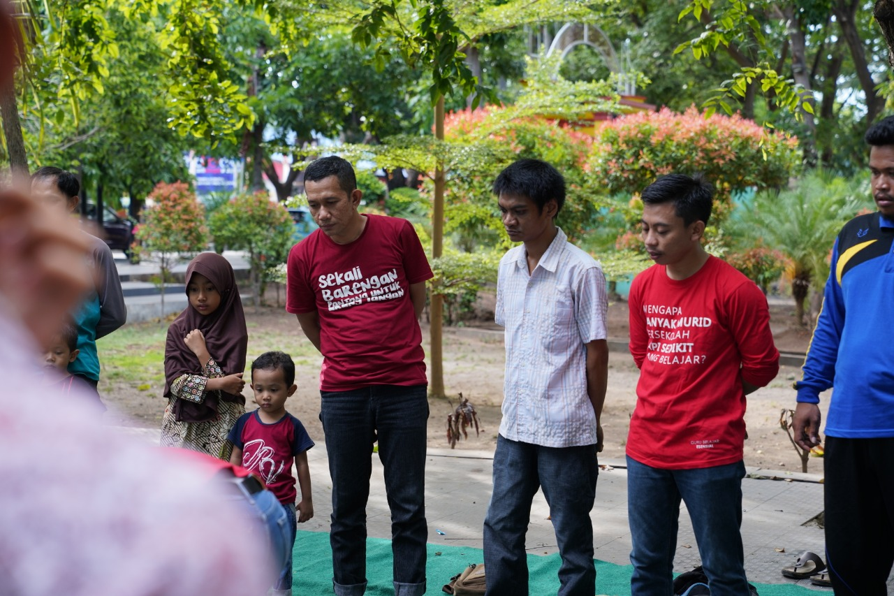 Ilham Azikin Hadir ditemu Pendidik  Daerah Begini Reaksi Peserta KB Bantaeng
