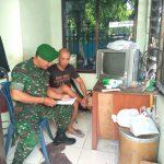 Jelang NATARU 2019-2020, Serka Widiyanto Aktif  Kordinasi Dengan Security Gereja