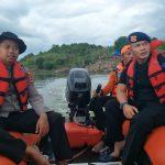 Danyon C pelopor Pimpin Langsung Pencarian korban Tenggelam, Bersama team SAR gabungan di bendungan Ponre Ponre