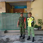 Pesan kapten Inf  Trisakti Jangan Sampai Kendor , Pelaksanaan Pasca Natal Diwilayah Koramil 03/ Serengan