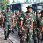 Dandim 0503/Jakarta Barat  pimpin Langsung Long Marc Minggu Militer Guna Menjamin kesiapan dan kesiapsiagaan Personel