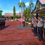 Kapolres Sinjai Pimpin Upacara Korps Raport Kenaikan Pangkat Personel Periode 1 Januari 2020