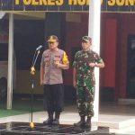 Apel Gelar Pasukan Pengamanan Malam Tahun Baru 2020 Di Hulu Sungai Tengah