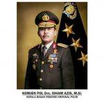 Kapolri jenderal Pol Idham Azis.M.Si Hadiri  Press Rilis Akhir Tahun Di PTIK