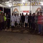 Ibadah Tutup Tahun 2019 Umat Nasrani Di Hulu Sungai Tengah mendapat Pengamanan Dari TNI Polri