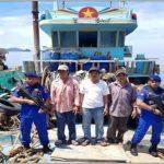 Polairud Mabes Polri Sejak 2017 Telah Tangkap 35  Kapal Nelayan Berbendera Vietnam Di NATUNA