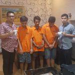 Tiga Orang Tersangka Pemilik 179 Butir Ekstasi Diringkus Polsek Medan Baru