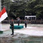Plh Kasdim Barabai, Wujudkan Rasa Nasionalisme Dan Patriotisme Melalui Upacara  Bendera