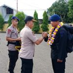 Wakapolres Bone Jemput kedatangan Personil Yon C Pelopor Satbrimobda Sulsel BKO Polda Papua Dalam Satgas Aman Nusa 1 Brimob Nusantara